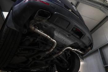 VW Touareg 5.0 TDI V10 Rear Silencer Delete