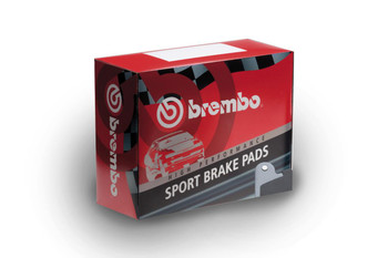 Brembo Sport HP2000 Rear Brake Pads for BMW F Series 2 Pot Calipers