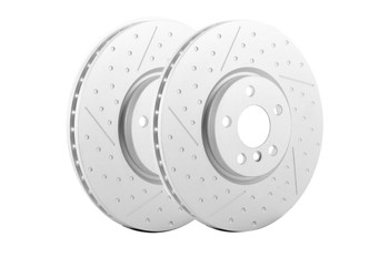 Mini JCW 335mm x 30mm Drilled Front Brake Discs