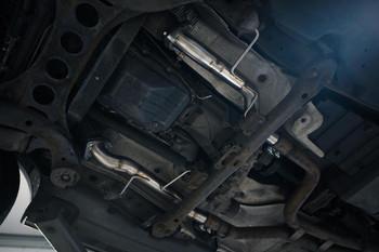 "2.5"" DPF Delete Downpipe Kit for 4.2 TDI V8 VW Touareg / Audi Q7"