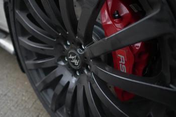 3.0 TDI Amarok 390 x 34mm RS Akebono 6 Pot Brake Caliper Upgrade Kit