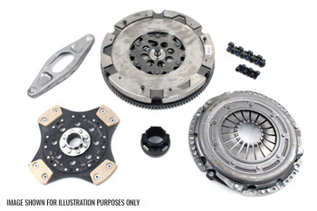 LuK Dual Mass Flywheel & SRE Clutch Kit for BMW 3.0 Diesel M57 Engines