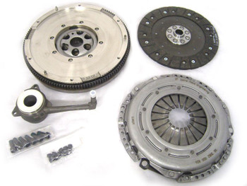 Sachs 2.0 TDi 6 Speed 02Q Dual Mass Flywheel with Sachs SRE Performance Clutch Kit for PPD170 & CR170