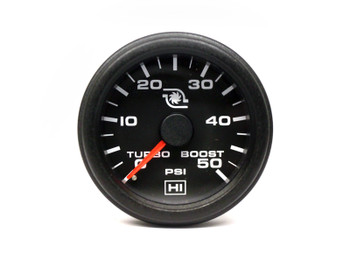 """2"""" Hewitt Industries 0-50psi Turbo Boost Pressure Gauge"""