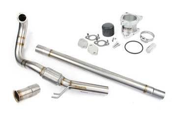 "Darkside 2.5"" Stainless DPF Delete & EGR Delete Kit for CKRA US Spec"
