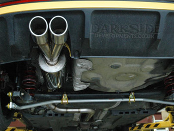 """Darkside 2.5"""" Stainless Exhaust System for Seat Ibiza 6J 2.0 TDI FR"""
