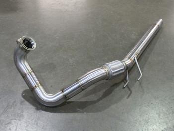 DPF Delete Downpipe for 1.6 TDi CR Engine VW Golf Mk6 / Jetta / A3 / Caddy