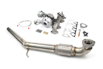 "Mk5 Platform 1.9 TDI 185hp - 200hp PD150 / PD160 Turbo Package with Stainless 2.5"" Downpipe"