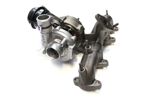 Garrett GT1749VB (ARL PD150) VNT17 Turbocharger with Modified Outlet