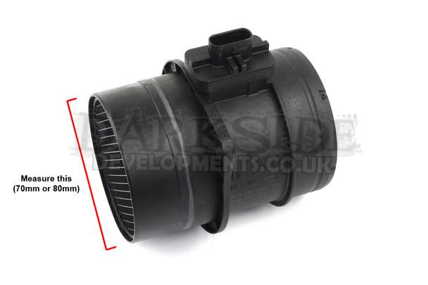 Darkside Developments Induction / Air Intake Kit with AEM DryFlow Air Filter for Mk4 1.9 TDI 8v Platform Vehicles