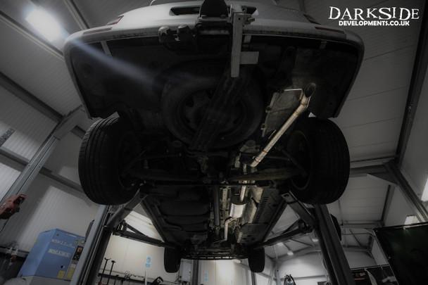 Darkside VW Transporter T5 1.9 / 2.5 / 2.0 ( including 4Motion ) Cat-Back Exhaust System