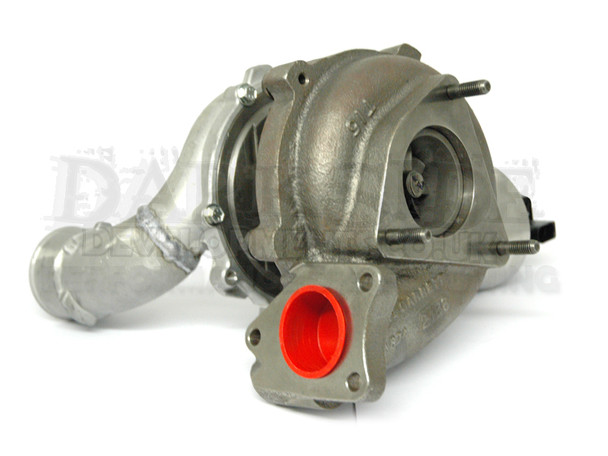 GTB2260VK Turbocharger with MFS Billet Compressor Wheel and Electronic Vacuum Conversion for PPD and Common Rail