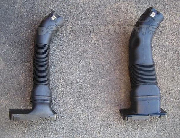 Comparison of standard PD130 and PD160 Air Intakes