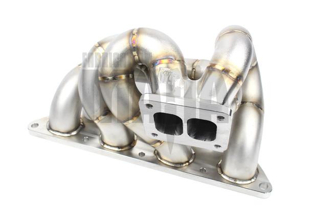 Mitsubishi Evo 4 / 5 / 6 / 7 / 8 / 9 T4 EFR BorgWarner Tubular Manifold - No Wastegates