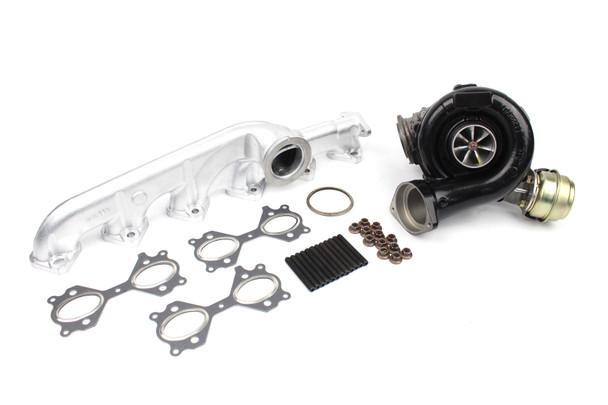 Darkside GTD2872VRK Billet Hybrid Turbocharger Kit with Vacuum Conversion for BMW M57N 6 Cylinder Engine - E46 / E53 / E60 / E61 / E65 / E83