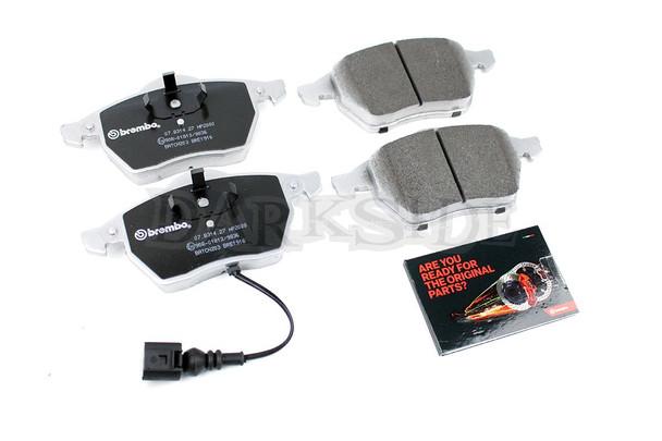 Brembo Sport HP2000 Front Brake Pads Mk5 / Mk6 Golf Platform