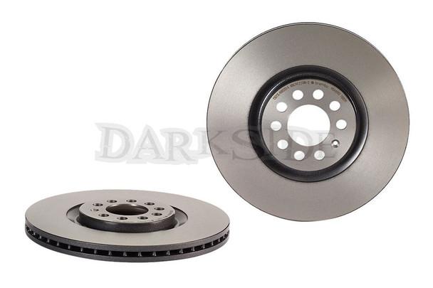 Brembo 345mm Front Brake Discs for Audi S4 / S5 B8 Platform Calipers