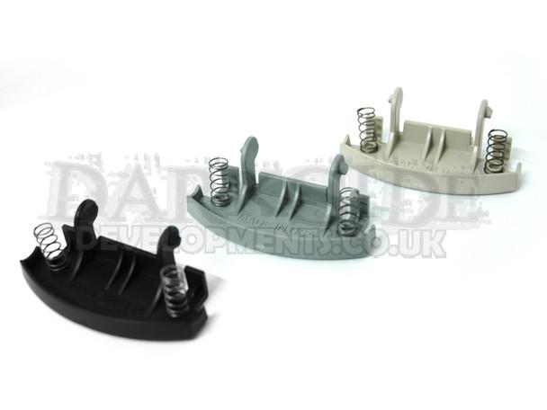 VW Golf Mk4 / Bora / Passat Front Armrest Lid Clip / Catch Repair Kit (Black, Beige and Grey)
