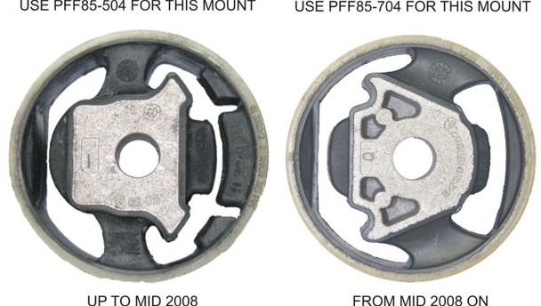 Front Lower Engine Mount Insert (Large) Petrol - PFF85-504