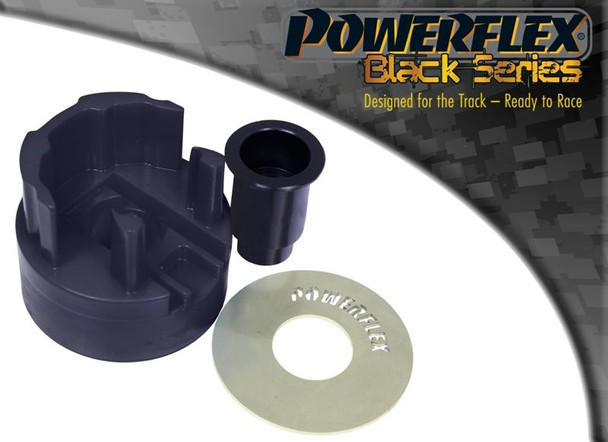 Front Lower Engine Mount Hybrid Bush (Large) - PFF85-831BLK