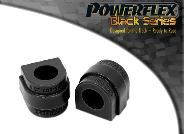 Front Anti Roll Bar Bush 23.2mm - 2 x PFF85-803-23.2BLK