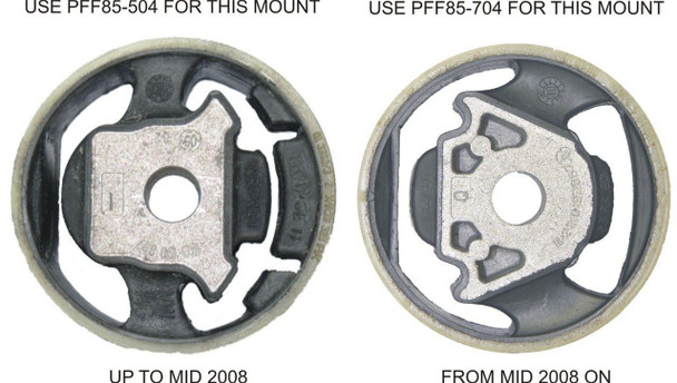Front Lower Engine Mount Insert (Large) Track - PFF85-704P
