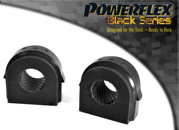 Front Anti Roll Bar Bush 28mm - 2 x PFF5-1203-28BLK