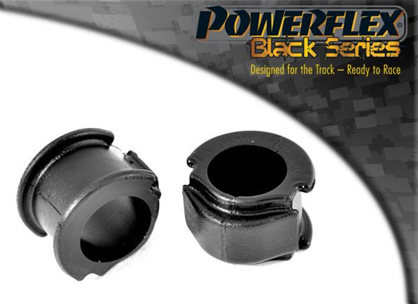 Front Anti Roll Bar Mount 25mm - 2 x PFF3-103-25BLK