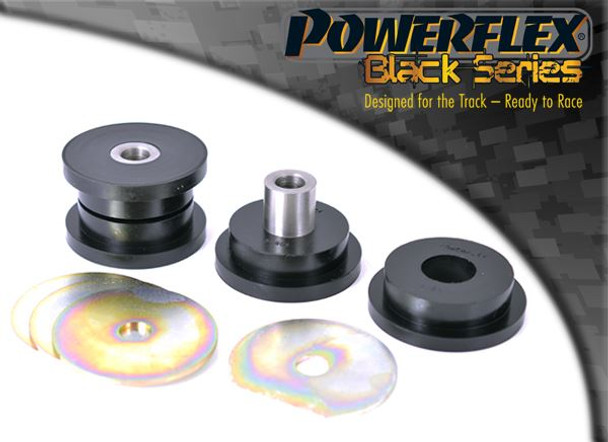 Front Lower Tie Bar To Chassis Bush - 2 x PFF5-801BLK