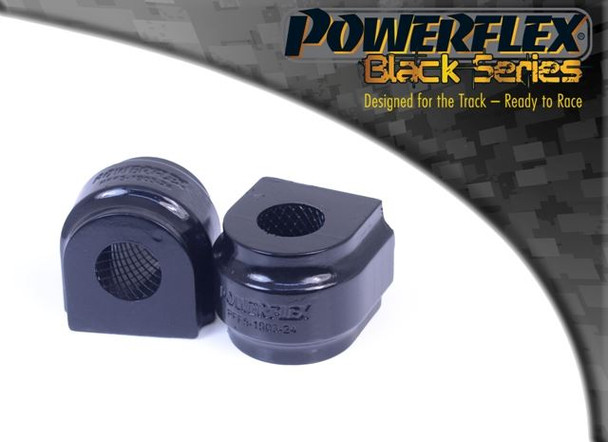 Front Anti Roll Bar Bush 23.6mm - 2 x PFF5-1903-23.6BLK