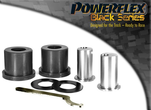 Front Arm Rear Bush, Caster Adjustable - 2 x PFF85-1302GBLK