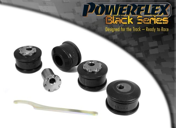 Front Upper Arm To Chassis Bush Camber Adjustable - 4 x PFF3-203GBLK