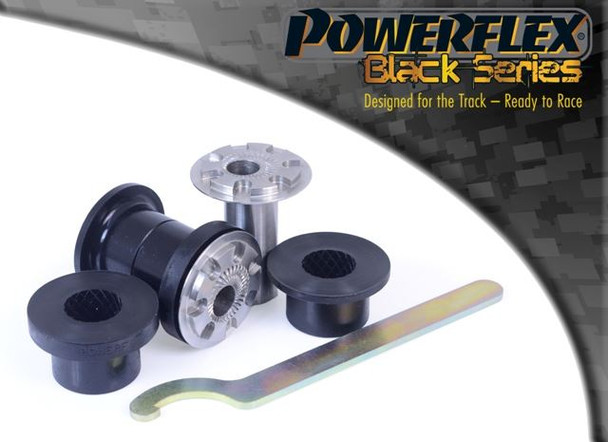 Front Wishbone Front Bush 30mm Camber Adjustable - 2 x PFF85-201GBLK