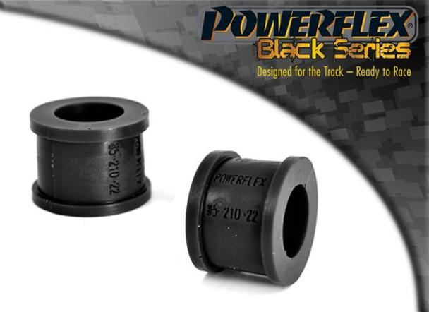 Front Anti Roll Bar Eye Bolt Bush Eibach 22mm - 2 x PFF85-210-22BLK