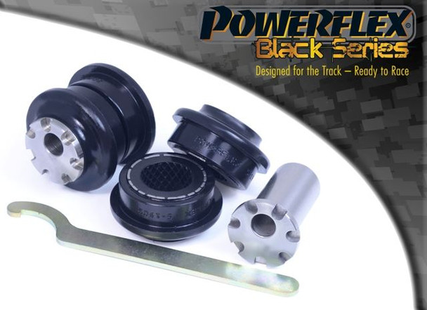 Front Control Arm to Chassis Bush - Camber Adjustable - 2 x PFF5-1902GBLK