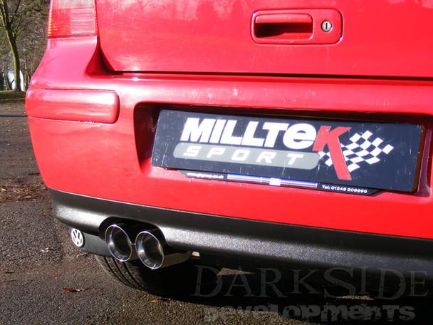 VW Golf Mk4 - Milltek MSVW364