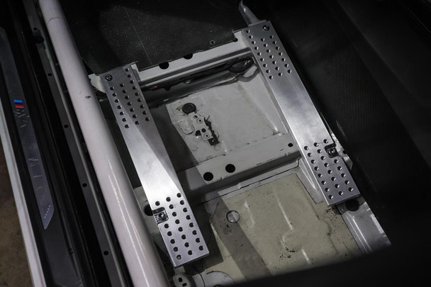 Darkside Billet Floor Mount Adapters for BMW M3 / M4 - F80 / F82