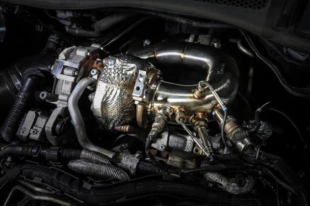 DPF Delete Downpipe for 3.0 V6 TDi Engine A4 / A5 B9 Platform