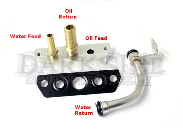 Garrett GTB2260VKLR Water & Oil Fittings