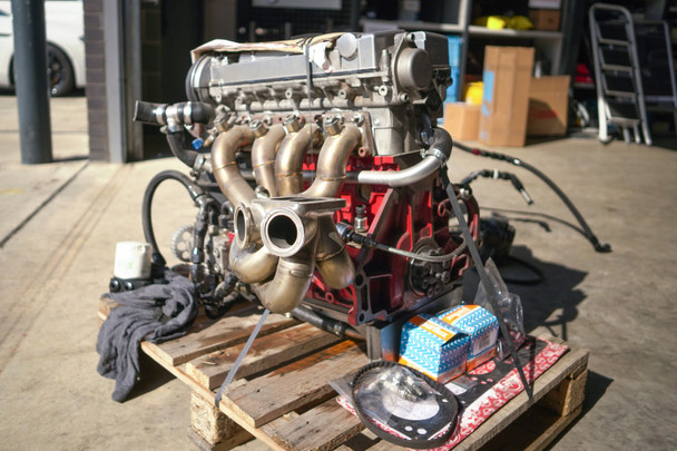 XE C20LET Engine from 1000bhp+ Vauxhall Tigra Drag Car Project