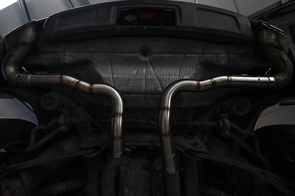 VW Touareg 5.0 TDI V10 Rear Silencer Delete