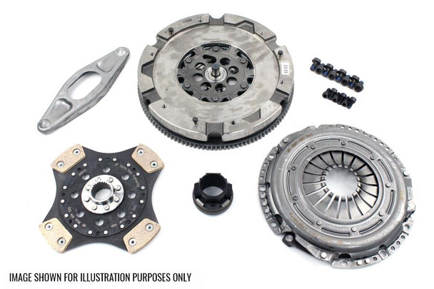 LuK Dual Mass Flywheel & SRE Clutch Kit for BMW E46 / E83 M57N Engines