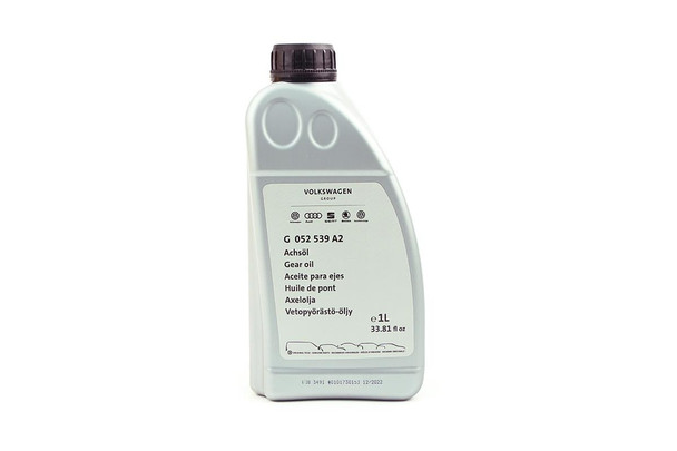 Genuine VW Axle Oil / Rear Differential Oil - 1 Litre - G052539A2
