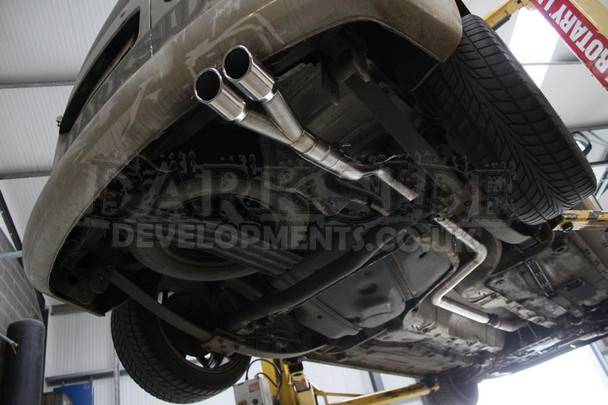 Darkside VW Caddy 2K - MK3 / MK4 Cat-Back Exhaust System 4WD Maxi Models Only