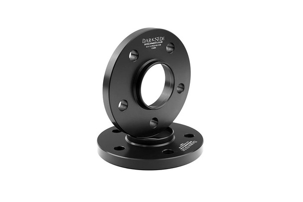 Pair of Darkside 5x120 PCD Wheel Spacers - 65.1mm Centre Bore (VAG)