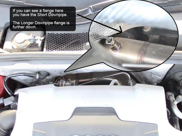 DPF Delete Downpipe for 2.7 and 3.0 V6 TDi Engine