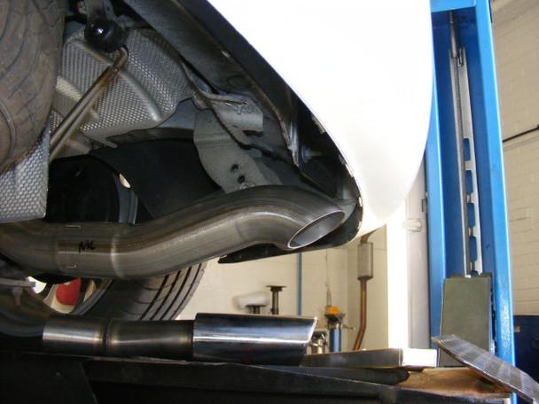VW Caddy 2K - MK3 / MK4 Milltek Cat-Back Exhaust System 2WD Manual and DSG (not Maxi / AdBlue models)