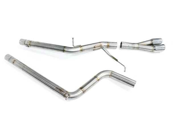 Darkside VW Caddy 2K - MK3 / MK4 Cat-Back Exhaust System 2WD Manual and DSG (not Maxi models)
