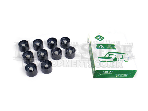 INA Black Top Camshaft Lifters / Followers for VW 2.5 PD TDi Engines