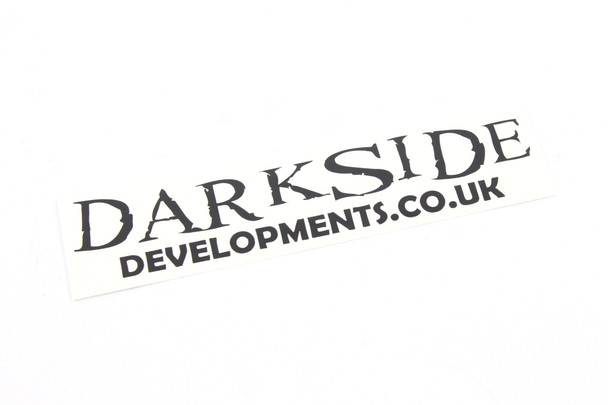 Darkside Developments Simple Matt Black Stickers